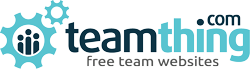 teamthing – Free Websites For Teams, Clubs & Leagues.